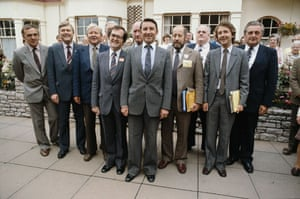 Clement Freud: Clement Freud with Liberal / SDP frontbench  in 1981