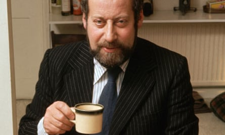 Clement Freud at Home in the 1980's