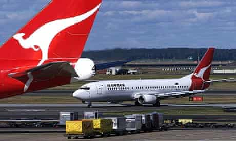 Qantas planes.