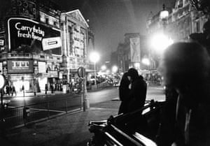 Three day week: Power cut in London during the three day week, 1974