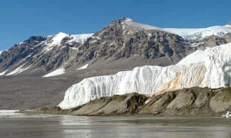 Blood Falls on the Taylor glacier, Antarctica
