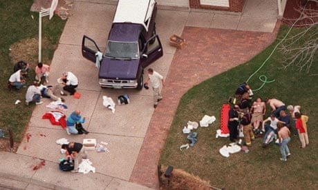 Questions about the Columbine massacre for a research paper. Help!!?