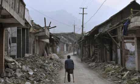 Sichuan earthquake survivor returns home