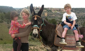 Clover Stroud and her family go on a walking holiday in Spain