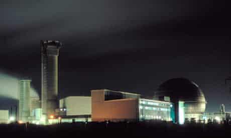 Disused plutonium reactors at Sellafield