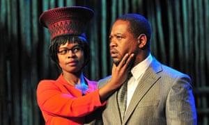 Nthati Moshesh and Fezile Mpela in MacBeki