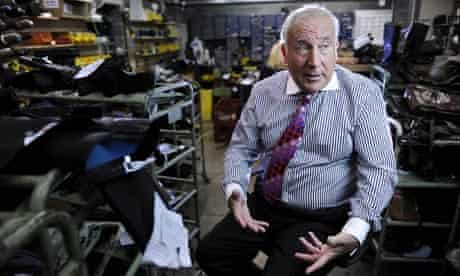 John Timpson, chief executive of Timpson shoe repairers