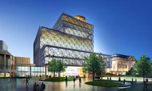 Library of Birmingham design concept