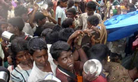Sri Lankan ethnic Tamil children