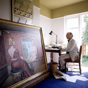 JG Ballard:  JG Ballard at home
