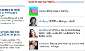 The Telegraph's short-lived Twitterfall
