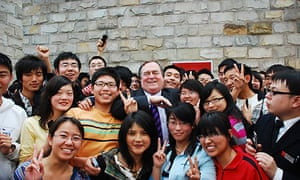 John Prescott, in China
