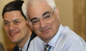 Chancellor Alistair Darling attends a cabinet meeting at 10 Downing Street