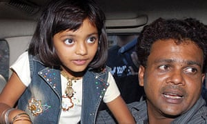 Rubina Ali who acted as young Latika in the film 'Slumdog Millionaire'