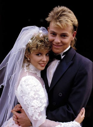 michael grade: Neighbours , with Kylie Minogue as Charlene and Jason Donovan as Scot