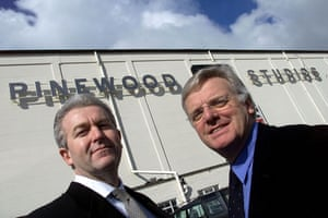 michael grade: Michael Grade and Ivan Dunleavy at  Pinewood
