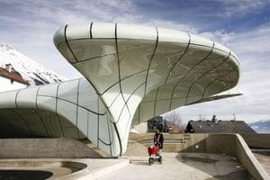 Prince Charles' Buildings: Zaha Hadid's railway stations in Innsbruck, Austria
