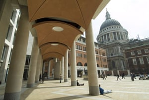 Prince Charles' Buildings: Paternoster Square in the City of London