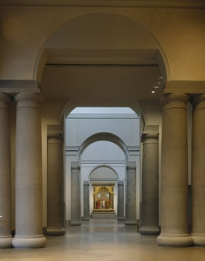 Prince Charles' Buildings: Interior of The Sainsbury Wing at the National Gallery