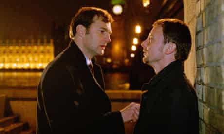 David Morrissey and John Simm in State of Play