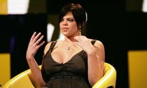 Jade Goody on Celebrity Big Brother 2007