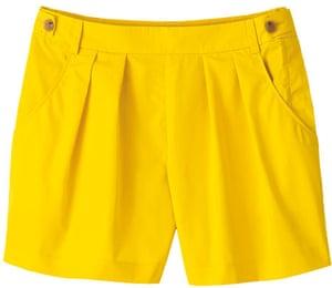 Fashion wishlist: yellow: Liberty shorts