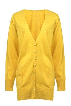 Fashion wishlist: yellow: Marisota cardigan