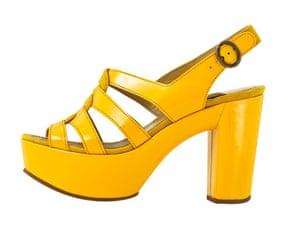 Fashion wishlist: yellow: Chloe sandal