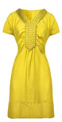 Fashion wishlist: yellow: Banana Republic dress