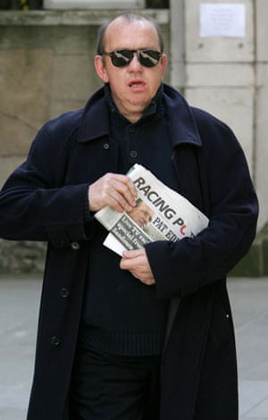 Clement Freud funeral: Mel Smith at Sir Clement Freud funeral