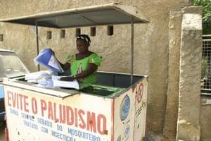 World Malaria Day : Angola