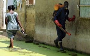 World Malaria Day : Senegal, Dakar