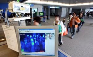 Swine flu: Incheon Airport in South Koreatightens screening for swine flu