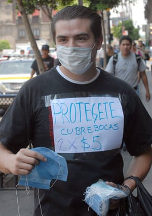 Swine flu: Swine flu outbreak  in Mexico City , Mexico