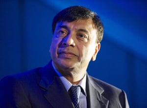 Sunday Times rich list: Lakshmi Mittal, CEO of Arcelor Mittal at the Boldness in Business Awards.