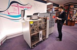 Espresso book machine: Espresso book machine
