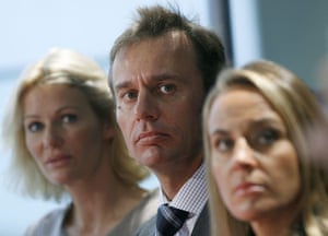 Sunday Times rich list: Ernesto Bertarelli with his wife Kirsty and sister Dona.