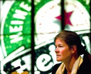 Sunday Times rich list: Charlene de Carvalho addresses the annual shareholders meeting of Heineken.