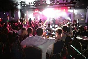 Butlins Bognor Regis: An evening show at Butlins holiday camp in Bognor Regis