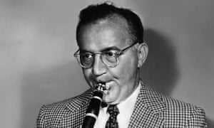 Jazz clarinet player and jazz band leader Benny Goodman