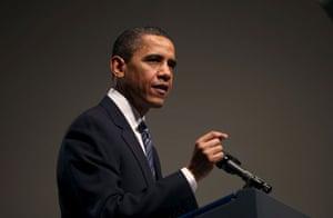 International Swine Flu: Barack Obama speaks in Washington, DC about the Swine flu outbreak