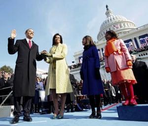 obama 100 days : Barack Obama Inauguration