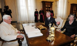 Prince Charles And The Duchess Of Cornwall Visit The Pope