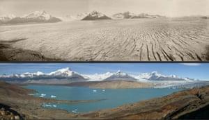 Glaciers under treat: Upsala Glacier in Patagonia, Argentina