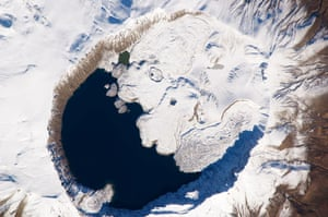 Satellite Eye:  Mount Nemrut , Turkey