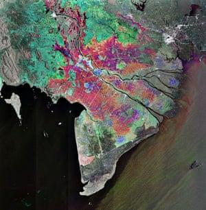 Satellite Eye: Vietnam's Mekong Delta