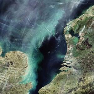 Satellite Eye: North Sea