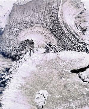 Satellite Eye: Scandinavian Peninsula