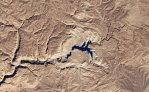 Satellite Eye: Band-e-Amir is a chain of six lakes in Afghanistan