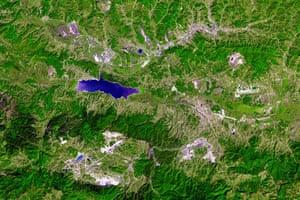 Satellite Eye: The Tuzla Basin in northeastern Bosnia and Herzegovina